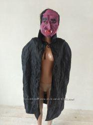 карнавальный костюм вампир. граф Дракула на взрослого маска новая