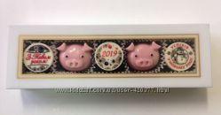 Шоколадные наборы конфет на Новый 2019 год.