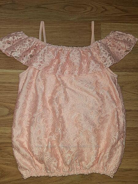 Блуза гипюр
