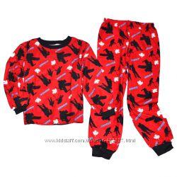 Байковые, теплые пижамы для мальчиков George