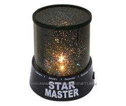 Вращающийся ночник-проектор Стар Мастер  звездное небо  c мелодией