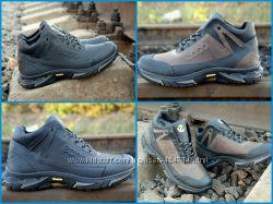 bce908bd Мужские зимние ботинки кроссовки Ecco супер крепкие, на шерсти Топ продаж