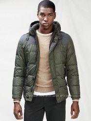 теплый пуховик, куртка мужская зима xl - xxl mango оригинал