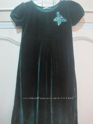 Платье девичье нарядное рост 116