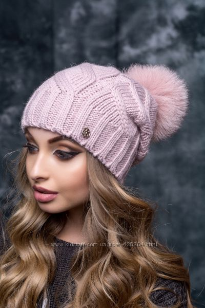 спеціальна пропозиція дизайнерська мода великий вибір Качественные, современные, модные шапки Flirt. Мех натуральный ...