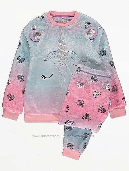 Красивая пижама для девочки George, 4-5 лет