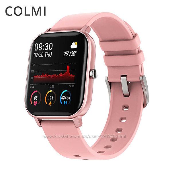 Смарт часы Colmi Р9 / вимірювання рівня кисню в крові, пульсу, тиску 790грн