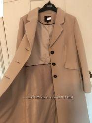 красивейшее пальто кремового цвета 14англ. размер-наш 48-50, новое