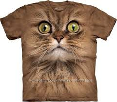 Футболки THE MOUNTAIN  S, M, L, XL коты, эльф ХХХЛ