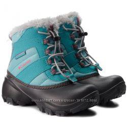 Детские зимние ботинки Columbia Rope Tow III Waterproof в 26 размере