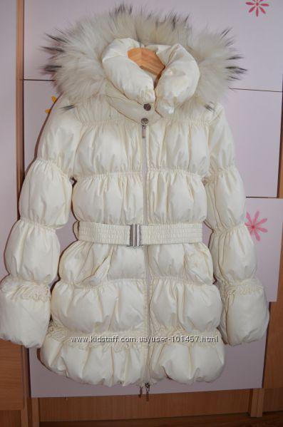 Шикарное пуховое пальто Blumarine