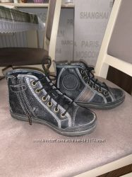 Ботинки Джеокс кожа