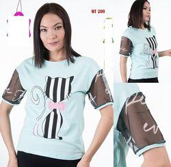 Яркая и красивая футболка sogo
