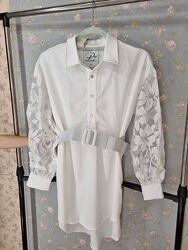 Белая блуза Рав RAW