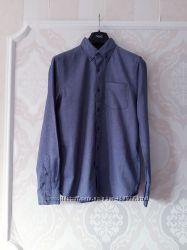 79eb4e2b6ff Размер S Стильная фирменная хлопковая мужская рубашка