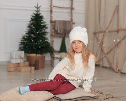 Очень теплый полушерстяной свитер для детей