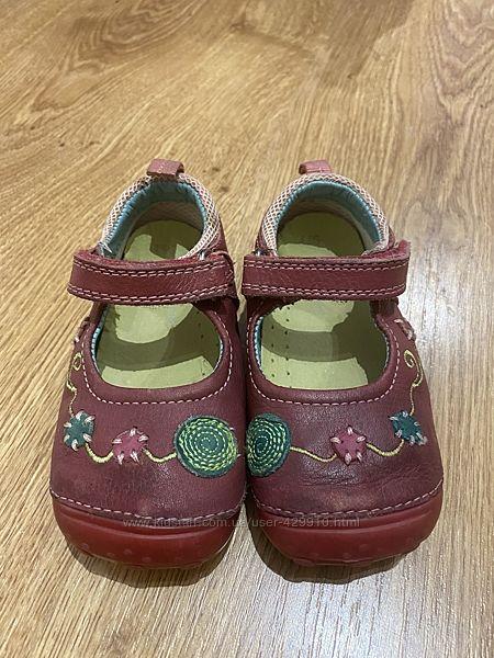 Кожаные туфли, мокасины hush puppies p.21,5