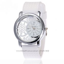 Новинка Стильные модные женские часы , силиконовый ремешок