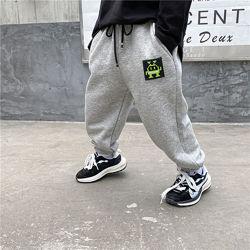 Модные теплые штаны, 90-140см