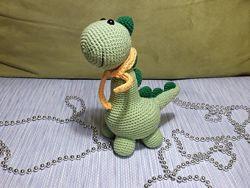 Динозаврик Веня - вязаная игрушка ручной работы, Амигуруми
