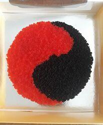 Суши торт 0.7кг угорь креветка лосось тунец крабы икра красная икра масаги