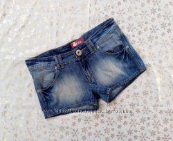 джинсовые шорты, р-р s-m, шортики