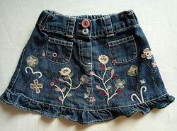 Джинсовая юбка на 1,5-3 года Designers