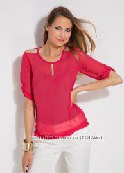 розовая женская блузка MA&GI. фирменная Турция