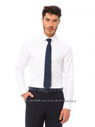 Белая мужская рубашка LC Waikiki  ЛС Вайкики