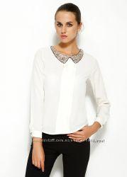 белая женская блузка MA&GI