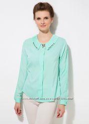 голубая женская блузка MA&GI