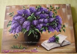 Картина маслом Бузок 50х70