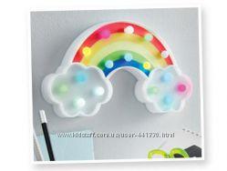 Украшение светодиодное корона радуга SMUKEE . Декор в детскую Led подсветка