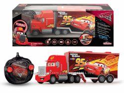 Автомобиль на ру Dickie Toys Cars 3 МакТрак с турбо функ св и зв 3089025