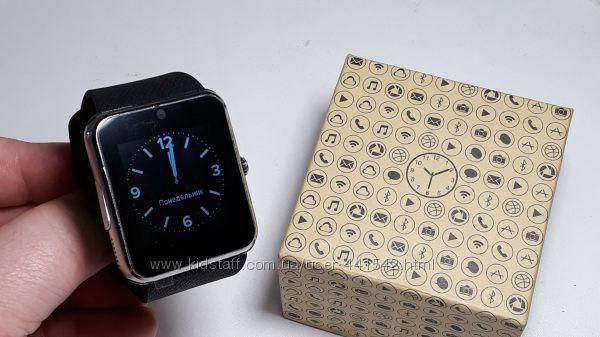 Смарт часы Smart Watch UWatch Smart GT08 Exclusive SilverBlack