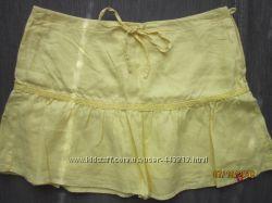 отличная юбка Edc лен, 38 р, Германия