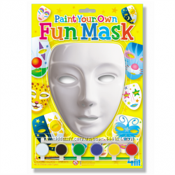 Набор для творчества Разрисуй маску 4М 2 вида
