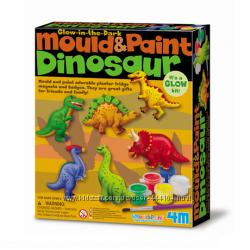 Набор для творчества 3 вида Динозавры, Морские обитатели, Обитатели сада,