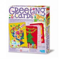 Набор для творчества Поздравительные открытки 4М