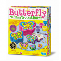 Набор для творчества Шкатулки-бабочки 4М