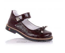 Детские кожаные ортопедические туфли для девочки , 31 размер