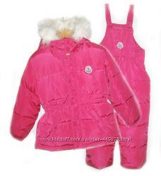 Зимний комбинезон с курткой для девочек
