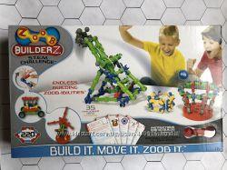 Конструктор Zoob Оригинал 220 элементов BuilderZ S. T. E. M. Challenge