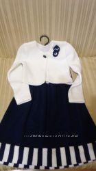 Школьные юбки, сарафан, блузки р 116-134.
