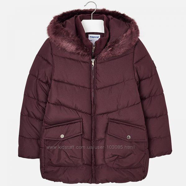 Теплая куртка Mayoral 2018