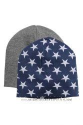 Новый комплект шапочек H&M, р. 134-140, 8-12 лет, маломерят