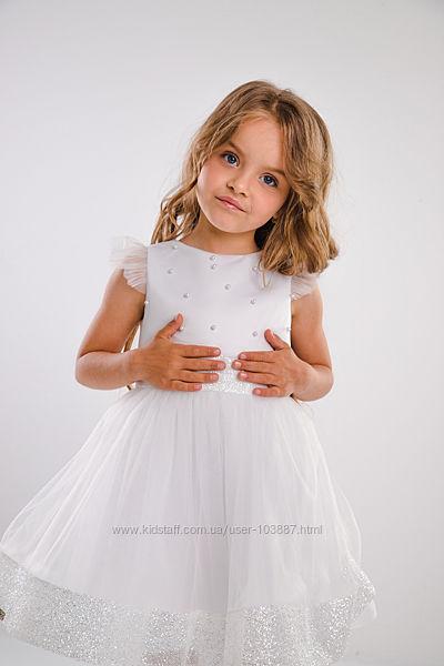 Нарядное платье Джия Suzie, для девочек 3-5 лет