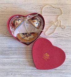 Подарочный набор фарфор чайная пара yamasen gold collection
