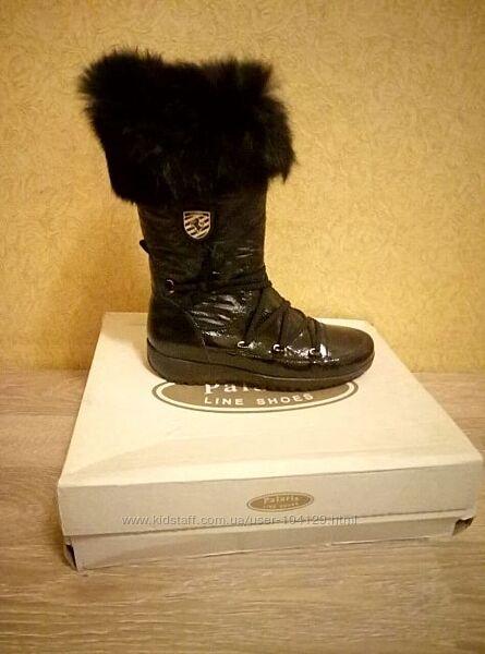 Продам сапоги для девочки ЗИМНИЕ на ЦИГЕЙКЕ 38 размер