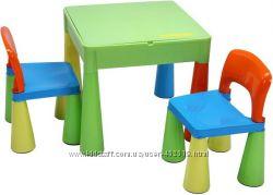 Комплект из детского стола и 2 стульев Tega Baby Mamut, Польша